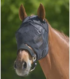 Maska proti hmyzu- bez uší a nosu černá