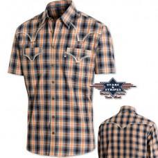 Košile Stars and Stripes Justin krátký rukáv