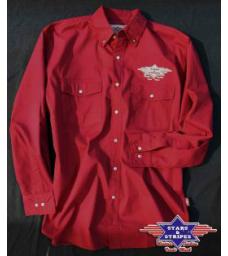 df0b65223b3 Košile Stars and Stripes Sammy červená