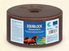 Equiblok, minerální solný liz pro koně s vitamíny a enzymy 3kg
