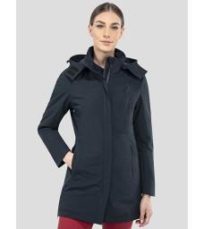 Kabát Equiline Lamio modrý