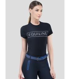 Tričko Equiline Elsa modré