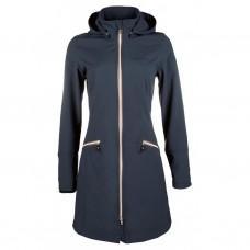 Kabát HKM Softshell Moena modrý
