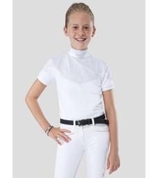 Triko Equiline Snowhite bílé