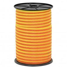 Ohradníková páska Fencee 10mm žluto/oranžová nerez 4x0,16 250m