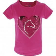 Triko Equi Kids Pony sequins růžové