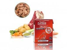 PLATINUM NATURAL MENU BEEF + CHICKEN 375 G