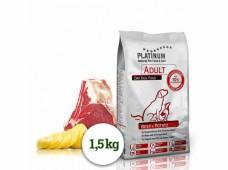 PLATINUM NATURAL BEEF & POTATOES - HOVĚZÍ S BRAMBOREM 1,5 KG