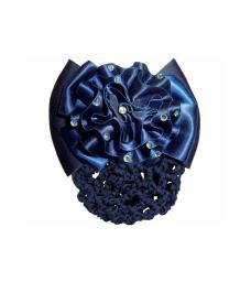 Spona do vlasu se síťkou Ekkia modrá