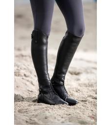 Vysoké jezdecké boty HKM Latinium Style - Dlouhé/šířka L