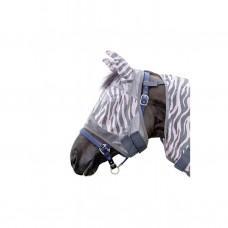 Maska proti mouchám HKM Zebra rose
