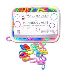 Gumičky Waldhausen Silicon 50g multicolor
