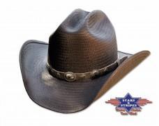 Slaměný klobouk Stars Bronx